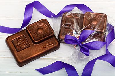 Шоколадные фигурки на заказ