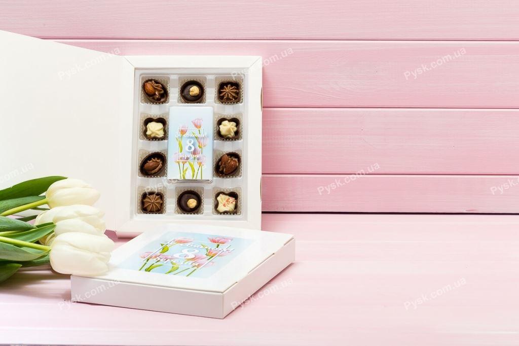 Шоколадная книга с пожеланием