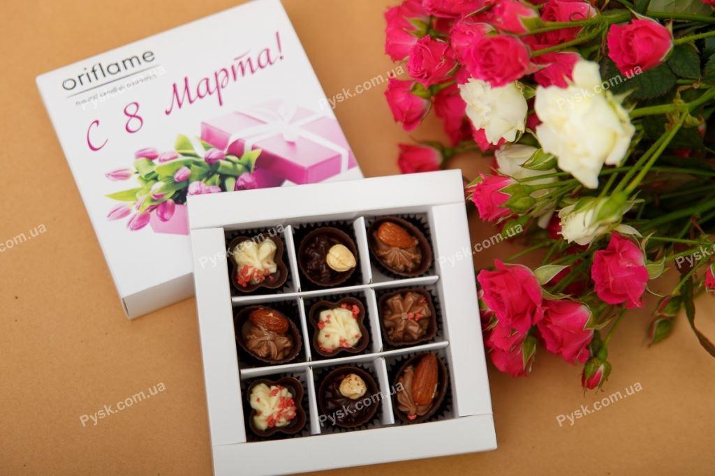 Шоколадный набор 9 конфет