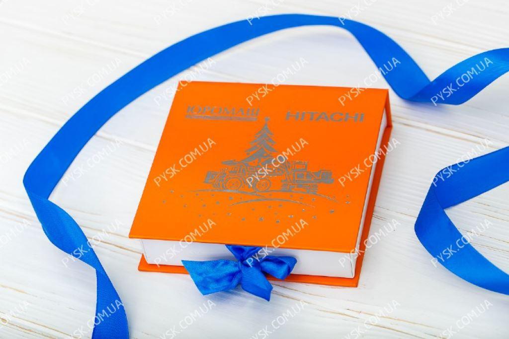 Коробка книга на 9 конфет