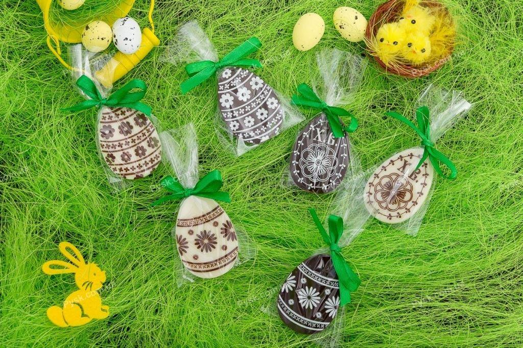 Пасхальные яйца из шоколада
