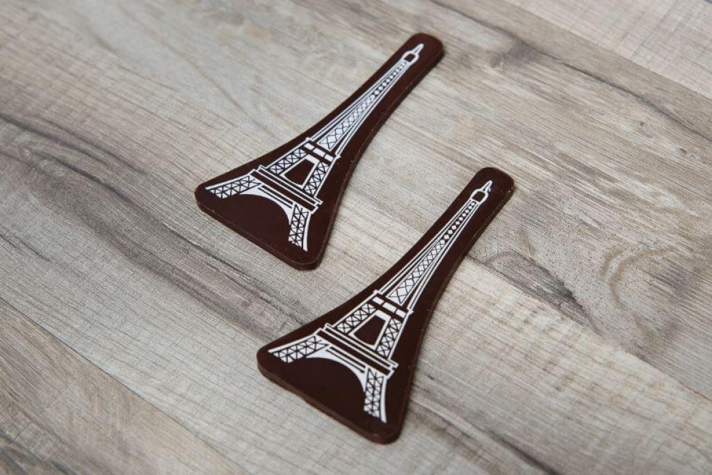 Шоколадная табличка для торта на заказ