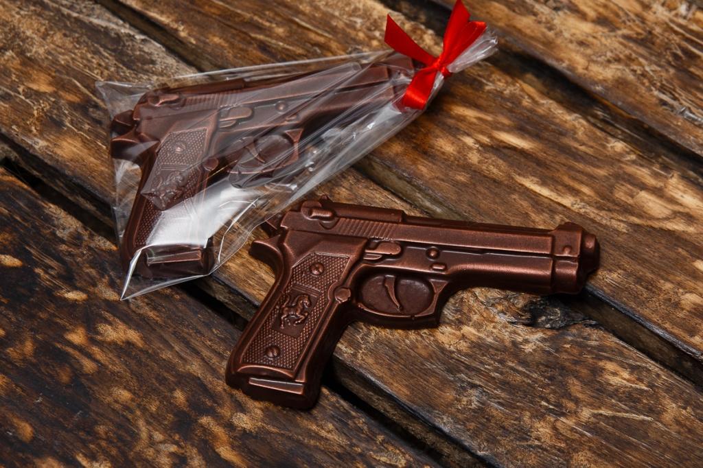 Шоколадний пістолет