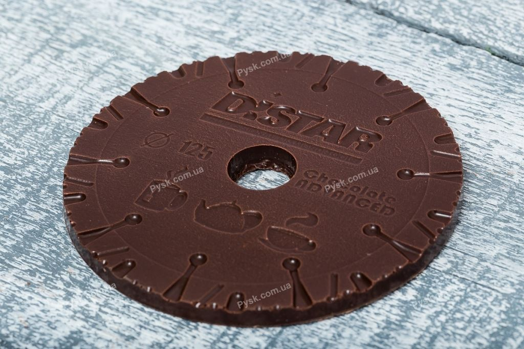 Шоколадный диск по камню