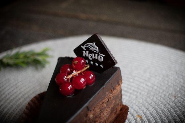 Шоколадний декор для пирожных
