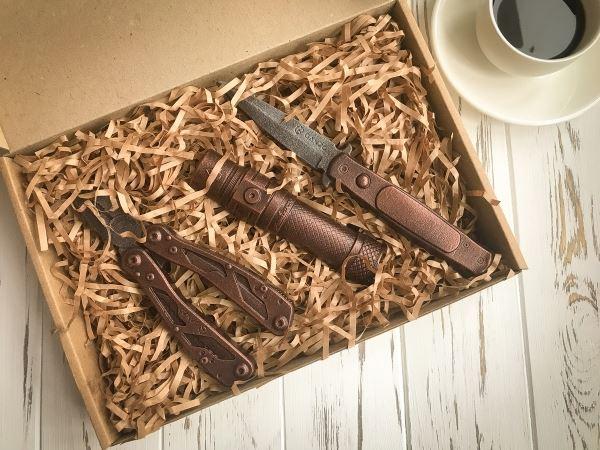 Шоколадные инструменты на заказ