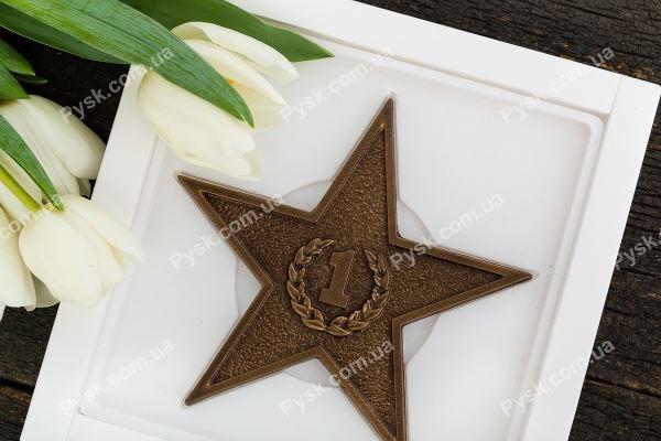 Шоколадная звезда №1
