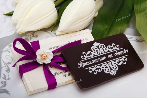 Свадебный шоколад