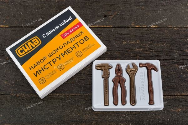 Шоколадный набор инструментов с логотипом
