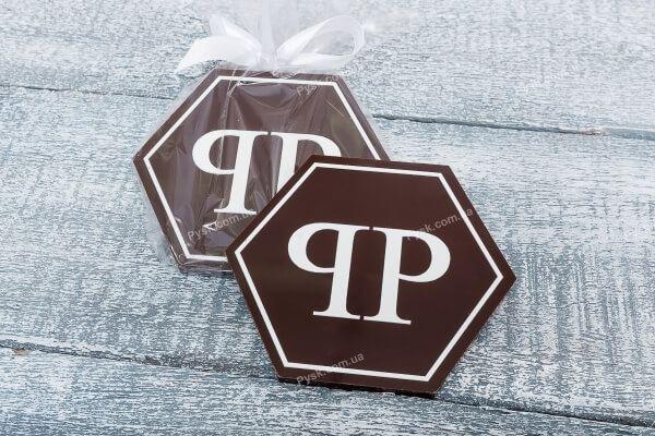 Шоколадка с лого по инд. макету