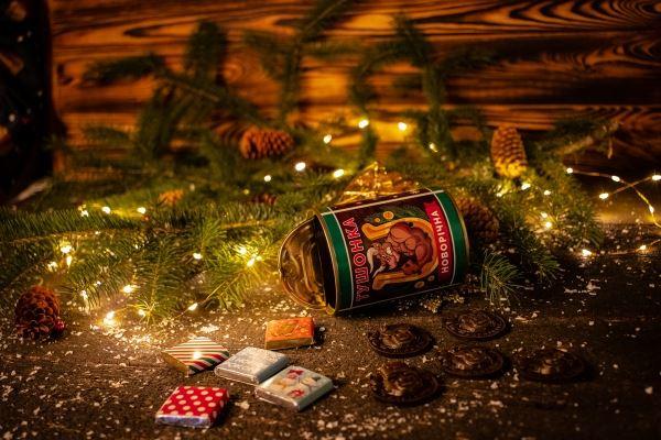 Новогодняя шоколадная тушенка