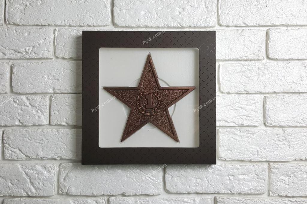 Шоколадна зірка №1